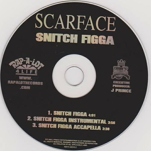 Scarface - Snitch Figga (CD Single) cover