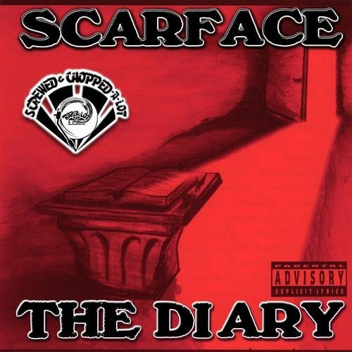 Scarface - The Diary (screwed & chopped) cover