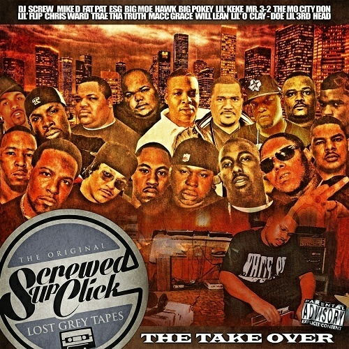 Screwed Up Click - The Take Over cover