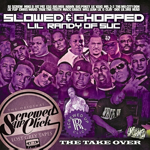 Screwed Up Click - The Take Over (slowed & chopped) cover
