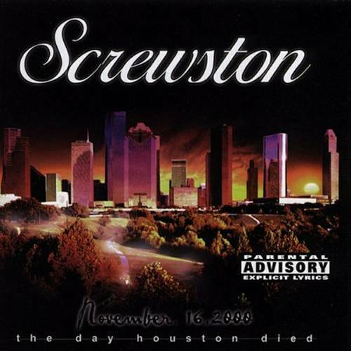 Screwston - Vol. 1. The Day Houston Died cover