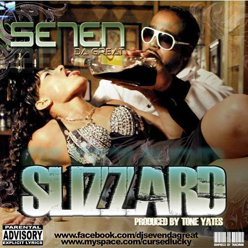 Se7en Da Great - Slizzard cover