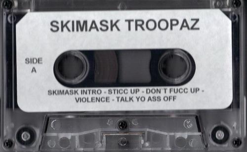Skimask Troopaz - Underground Tape cover