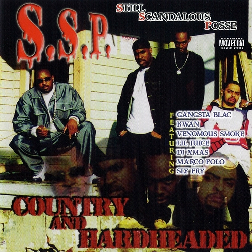 S.S.P. - Country And Hardheaded cover