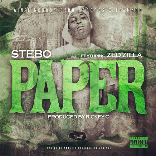 Stebo - Paper Remix cover