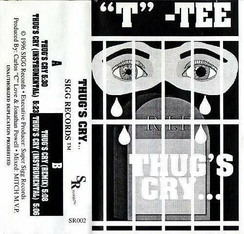 T-Tee - Thugs Cry... cover