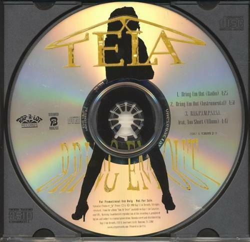 Tela - Bring Em Out / B.I.G.P.I.M.P.S.I.S.I. (CD Single, Promo) cover