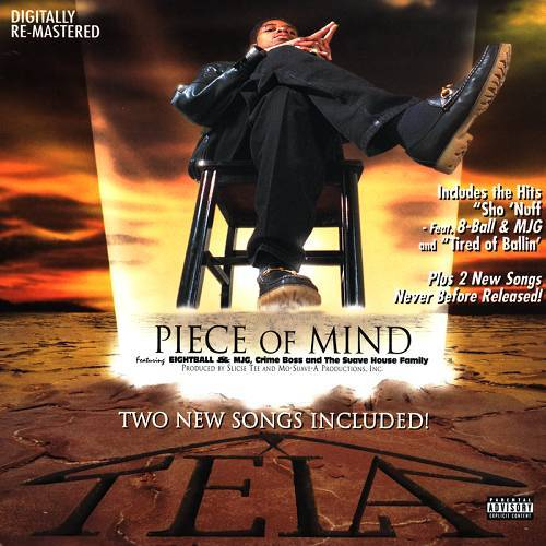 Tela - Piece Of Mind (Digitally Remastered) cover