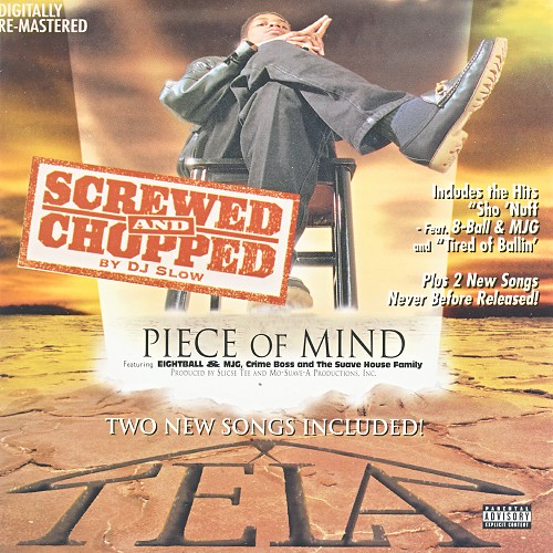 Tela - Piece Of Mind (screwed & chopped) cover
