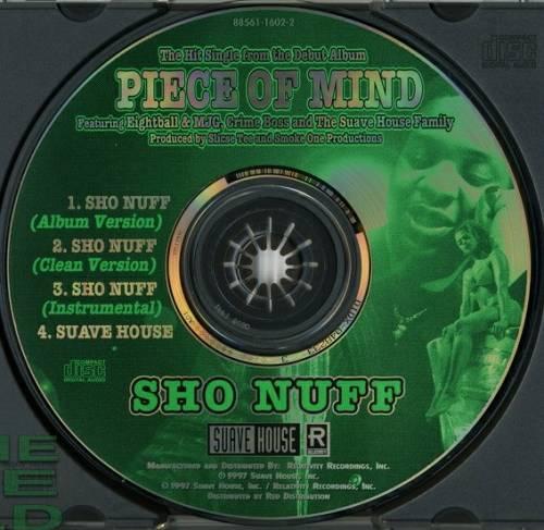 Tela - Sho Nuff / Suave House (CD Maxi-Single) cover