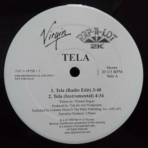 Tela - Tela (12'' Vinyl, Promo) cover
