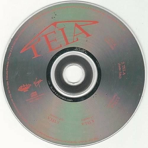 Tela - Tela (CD Single, Promo) cover