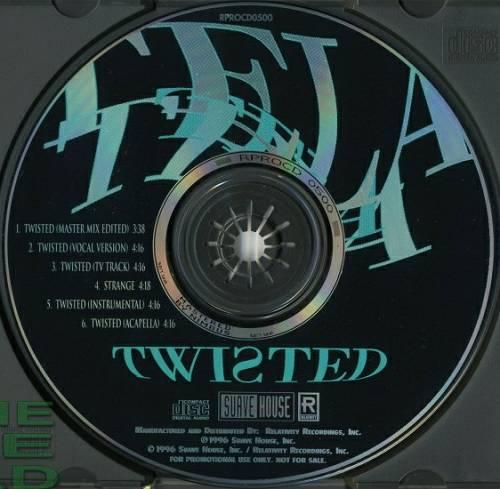 Tela - Twisted (CD Maxi-Single, Promo) cover