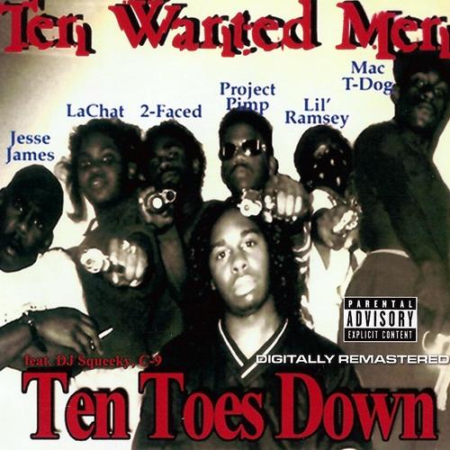 Ten Wanted Men - Ten Toes Down cover