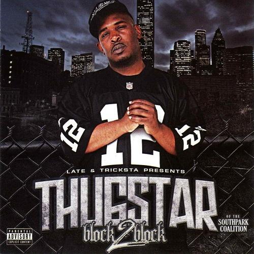 Thugstar - Block 2 Block Reissue cover