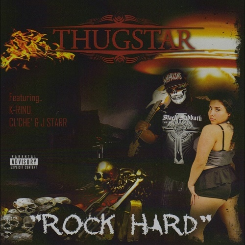 Thugstar - Rock Hard cover