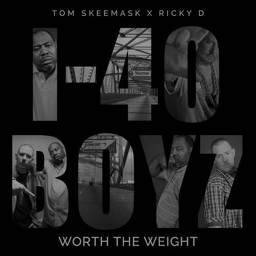 Tom Skeemask & Ricky D - Worth The Weight cover