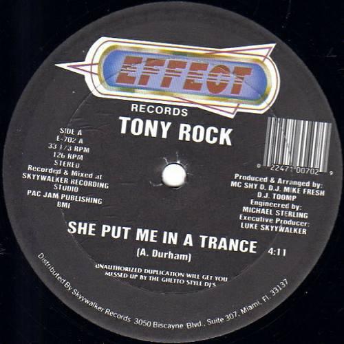 Tony Rock - She Put Me In A Trance (12'' Vinyl, 33 1-3 RPM) cover