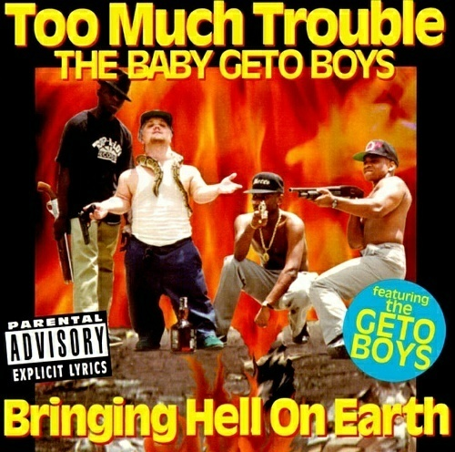 Too Much Trouble - Bringing Hell On Earth cover