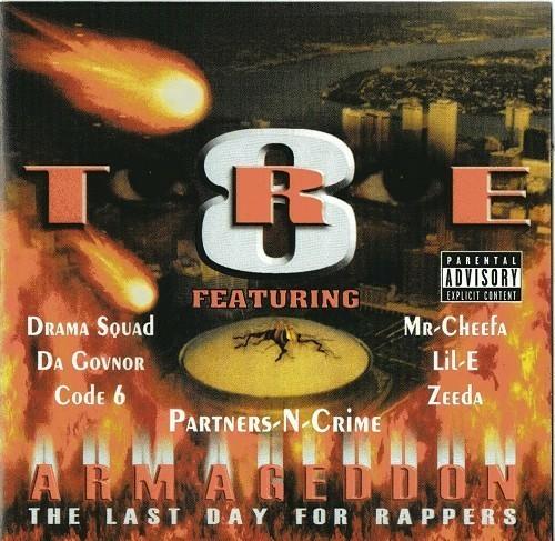 Tre-8 - Armageddon cover