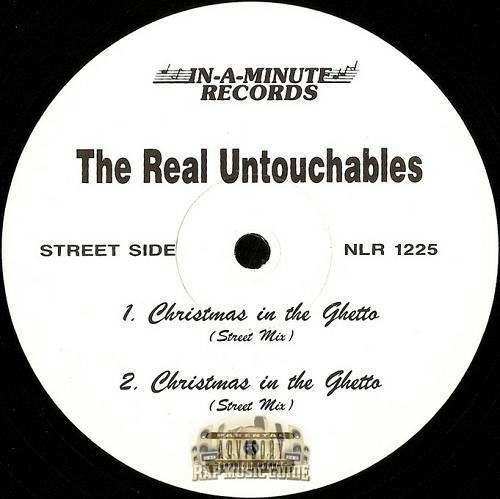 The Real Untouchables - Christmas In The Ghetto (12'' Vinyl) cover