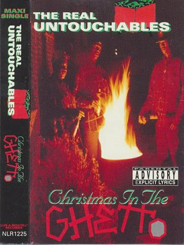 The Real Untouchables - Christmas In The Ghetto (Cassette Single) cover