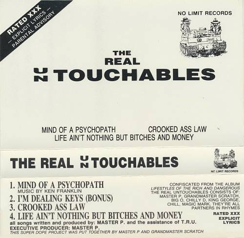 The Real Untouchables - Mind Of A Psychopath (Cassette EP) cover