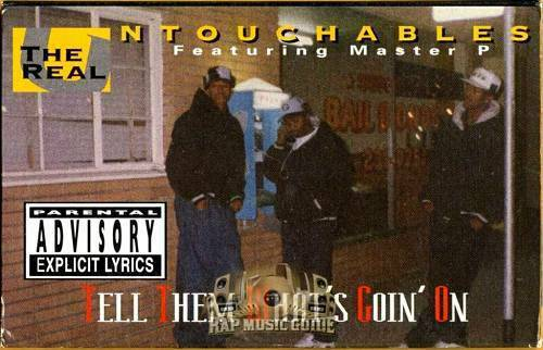 The Real Untouchables - Tell Them What`s Goin` On (Cassette Maxi-Single) cover