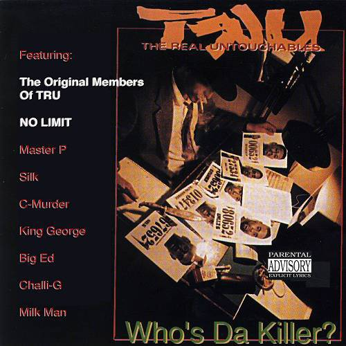 TRU - Who`s Da Killer? cover