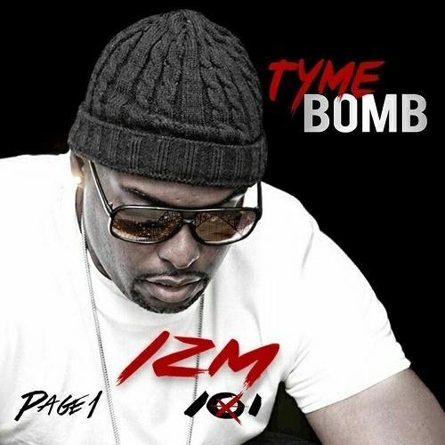 Tyme Bomb - IZM 101 Page 1 cover