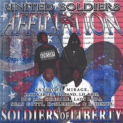 United Soldiers Affiliation - Soldiers Of Liberty cover