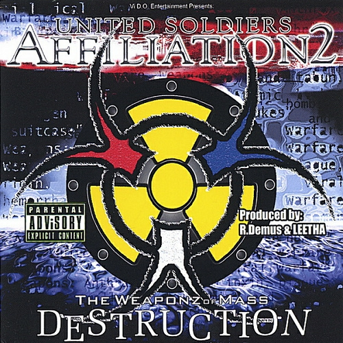 United Soldiers Affiliation - The Weaponz Of Mass Destruction cover