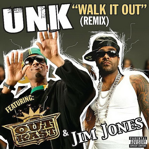 UNK - Walk It Out Remix cover