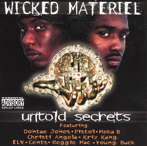 Wicked Materiel - Untold Secrets cover