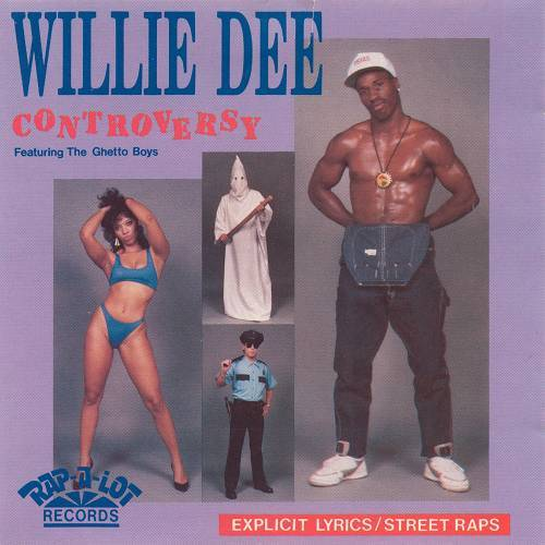 Willie Dee - Controversy cover