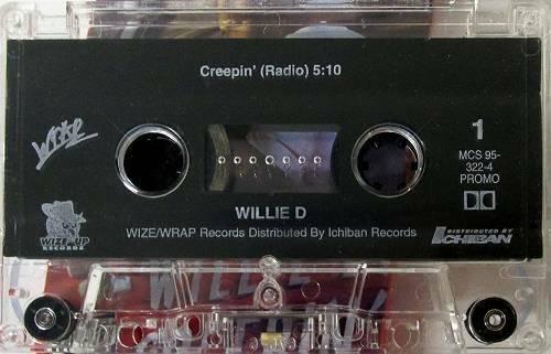 Willie D - Creepin` (Promo Single) cover