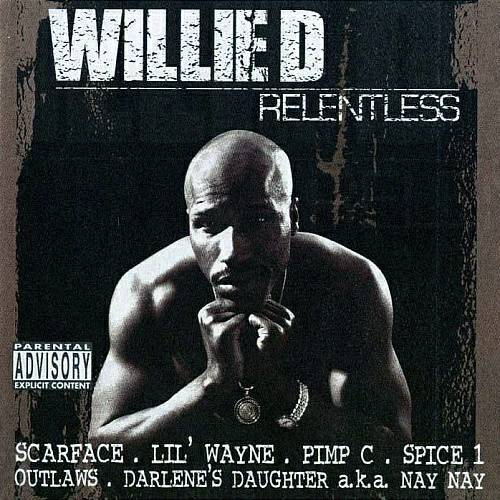 Willie D - Relentless cover
