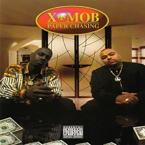 X-Mob - Paper Chasing cover
