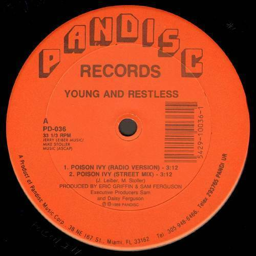Young & Restless - Poison Ivy (12'' Vinyl) cover