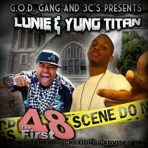 Lunie 3-80 & Yung Titan - The First 48 cover